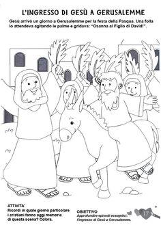 Sunday School Activities, Bible Activities, Activities For Kids, Christian Preschool, Kids English, Palm Sunday, Godchild, Holy Week, Bible Crafts