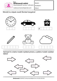 Hangokra bontás és irányok (j-b) - MACIS GYAKORLÓ Diagram, Logos, Logo