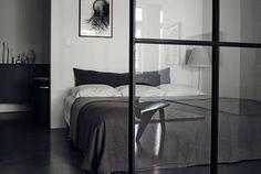 Calm Bedrooms In Dark Grey Hues