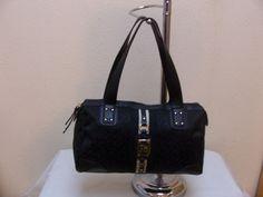 Tommy Hilfiger Satchel 6914966 880 Color Black Beige Gold Retail Price  $79.00 #TommyHilfiger #Satchel