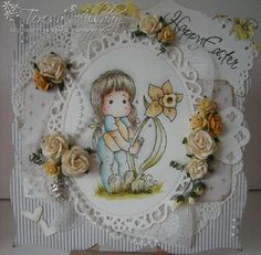 Welcome to Craftingallday Creations ~ Tilda decorates Easter