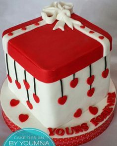 174 Best Red And White Cakes Images White Cakes Amazing Cakes