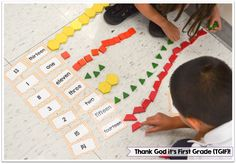 Building Number Sense in Kindergarten and First Grade - Thank God It's First Grade!