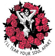 Arte Dope, Dope Art, Tattoo Drawings, Art Drawings, Drawing Themes, Arte Alien, Skeleton Art, Horror Art, Skull Art