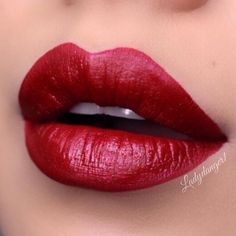 """""""@doseofcolors SCARLET LACE ❤️"""""""