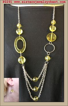 What A Treat - Yellow - Paparazzi Accessories , $5.00