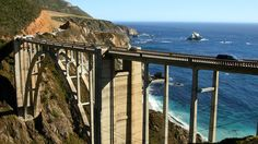 Back side of the Bixby Creek Bridge