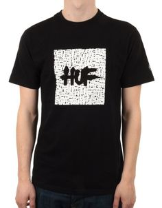 e3549a9570702 Buy HUF X Haze T-Shirt - Black by Huf from our Clothing range - Blacks - @  fatbuddhastore