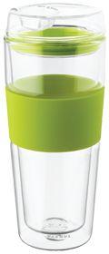 Takeya Double Wall Glass Tea/Coffee Tumbler Green #greenforgreen #contest #vitaminshoppe