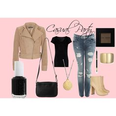 Casual Party, created by ange-taylor on Polyvore