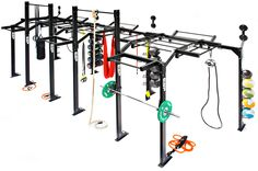 ESP Fitness | The ESP Fitness Total Freedom Cross Frames are a modular freestanding high performance functional rig, built to any size and configuration.