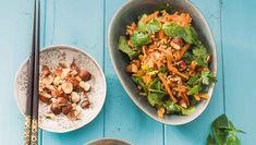 Ein Karotten Salat mit Fleisch: Das ist die Paleo Variante. ✓Schmeckt ✓hält satt und ist ✓super easy zuzubereiten ➤ Perfekt zum Mitnehmen.