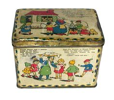1930 British Biscuit Tins - Search Results Details