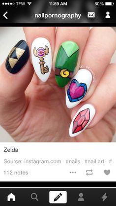 Zelda nails