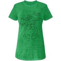"""Steampunk Joe Whimsy"" Junior Fit Next Level Burnout Tee via CustomizedGirl.com / #CustomizedGirl #fantasyshopping #faery #fairy #fantasy #CorianderShea   www.coriander-shea.com facebook.com/CorianderShea"
