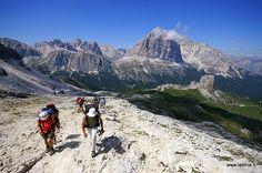 Falzarego - Rifugio Averau, Nuvolau, Scoiattoli | Cortina d´Ampezzo | falzarego, nuvolau, averau, scoiattoli, cinque torri, tofana, dolomiti, monte gallina, rifugio averau, rifugio nuvolau, ladinia, gps | Val Badia e Alta Badia, escursioni, itinerari, camminare, passeggiate nella natura.