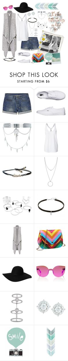 """Unbenannt #364"" by funkenregen ❤ liked on Polyvore featuring Polaroid, Holga, Ksubi, Vans, New Look, Botkier, Sans Souci, Monki, RetroSuperFuture and Messika"