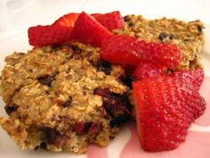Baked Oatmeal Squares ~ Is Yummy