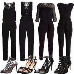 Jumpsuit Hot Black Outfit Outfit für Damen zum Nachshoppen auf Stylaholic