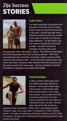 Success stories from athletes #Zija #Ripstix