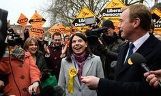 Sarah Olney and Tim Farron - Brexit chaos could change the political map of Britain. The Liberal Democrat victory in the Richmond Park byelection could be just the first of many electoral aftershocks that could reconfigure the electoral landscape. Tim Farron, Map Of Britain, Shattered Dreams, Richmond Park, Liberal Democrats, Continents, Victorious, Things That Bounce, Politics