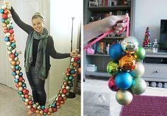 Grosgrain: DIY Ornament Garland
