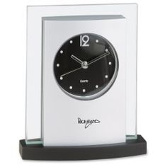 Desktop Analog Clock - Black Base (Item No. 2456-B) from only $9.25 ready to be imprinted by 4imprint Promotional Products