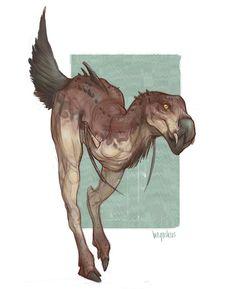 Creature, Meggy Vodušek on ArtStation at https://www.artstation.com/artwork/lNY0J?utm_campaign=digest&utm_medium=email&utm_source=email_digest_mailer