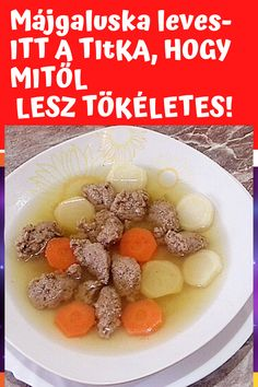 Cereal, Soup, Breakfast, Recipes, Hungarian Recipes, Hungary, Morning Coffee, Recipies, Soups