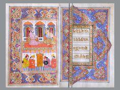 Folio from Bhagwad Gita - Kashmir miniature