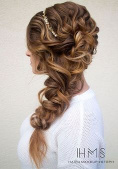 110 Wedding Hairstyles for Long Hair from Hair and Makeup by Steph   Hi Miss Puff - Part 2