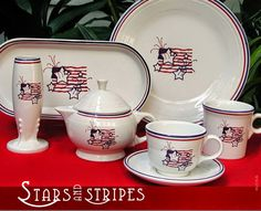 DISHing with HLCCA: Stars and Stripes