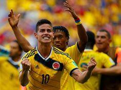 La gran promesa colombiana James Rodriguez a destacado por encima de sus compañeros y demostrado que es crack en crecimiento