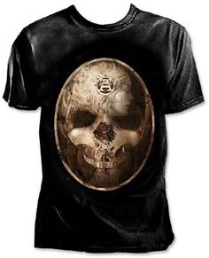 8b7d71011ad Dark Narcissus T Shirt in Ladies Clothing for Alchemy Alabaster flesh  becomes bleached bone in a haunting baroque memento mori