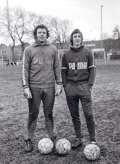 Heinz Stuy and Johan Cruyff