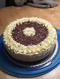 Malakoff - Torte mit QimiQ Tiramisu, Vanilla Cake, Cake Decorating, Sweet Tooth, Food And Drink, Cupcakes, Cookies, Ethnic Recipes, Muffins