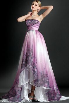 A shorter version of this would be gorgeous for bridesmaids (however crazy pricey)