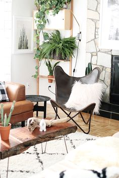 Bohemian Modern Living Room + Fall Must Have | Hello Lidy