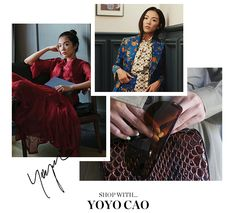 SHOP WITH... YOYO CAO