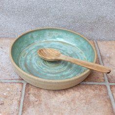 Serving dish,.....wheel thrown stoneware pottery