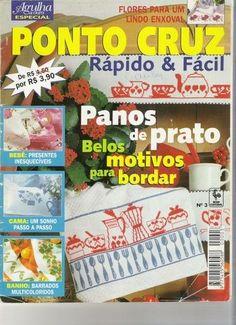 Panos de prato - claudia - Álbuns da web do Picasa... Great free cross stitch patterns!!