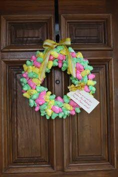 Peep Wreath- chicks @jeanne