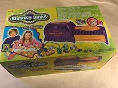 The Incredible Shrinky Dinks Maker with Box #SpinMaster
