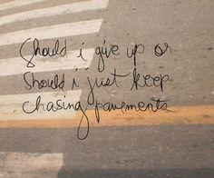 Adele - Chasing Pavements   Pinterest : @Cantevensay