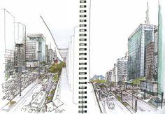 Urban Sketch - Bajzek