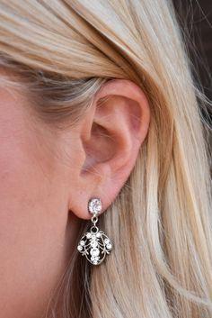Anne Koplik Flying Beetle Earrings