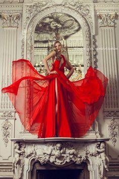 A Red Dress...................