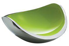 Ninnananna Double Wall Bowl, Green on OneKingsLane.com