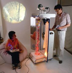 The Vecta Mobile Sensory Station is ideal where space is at a premium, such as Hospitals and Nursing Homes. Converts waiting rooms, treatment rooms and bedrooms into relaxing, distracting and Column Base, Multi Sensory, Sensory Stimulation, Sensory Rooms, Acrylic Mirror, Treatment Rooms, Cause And Effect, Aroma Diffuser, Visual Effects
