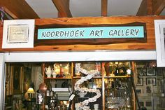 Find that perfect little piece of art to take home at the Noordhoek Art Gallery